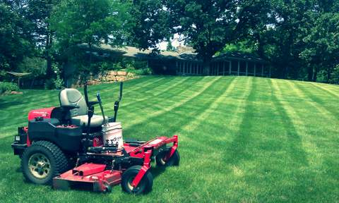 Summer Time Mowing in MN
